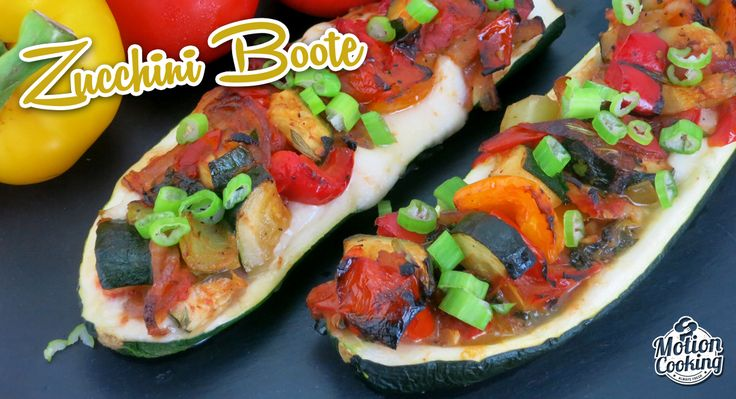 Zucchini Boote