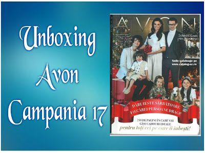 Cerasela Blog: Unboxing Avon Campania 17/2016
