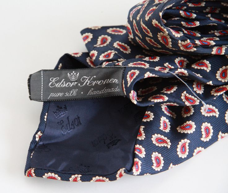 #vintagetie #brandEdsorKronen you can buy on http://www.salonmody.cz/en/home/24-mens-tie-brand-edsor-kronen.html