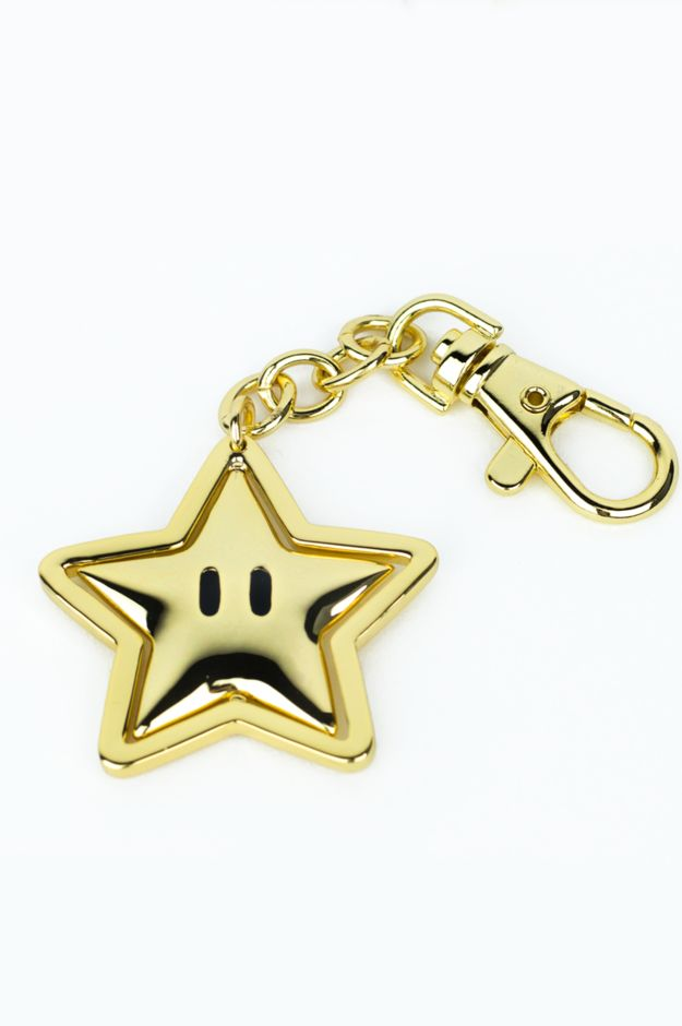 Starman Keychain | 29 Nintendo Presents That Will 1-Up Your Gift-Giving Game