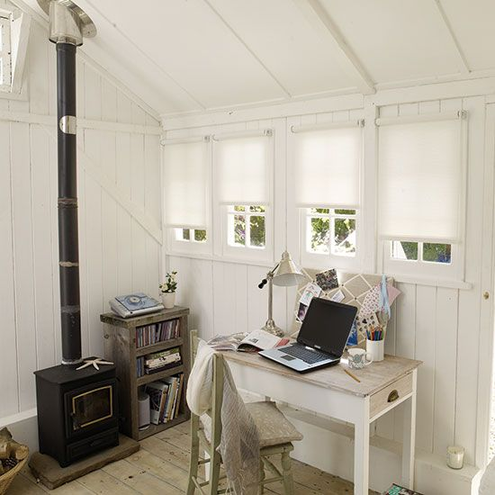 More women are working from home and turning garden sheds into office spaces and retreats from family life