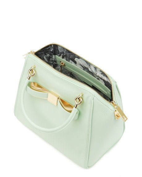 BANDOOK - Bow tote bag - Pale Green | Womens | Ted Baker UK