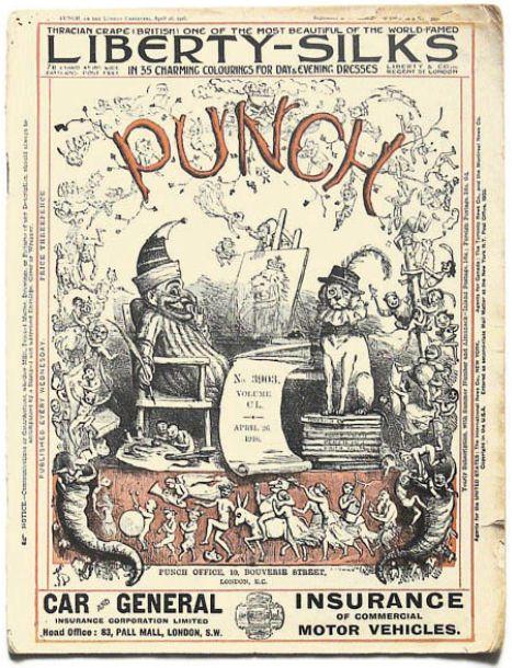 Punch magazine cover 1916 april 26 volume 150 no 3903 - Richard Doyle (illustrator) - Wikipedia