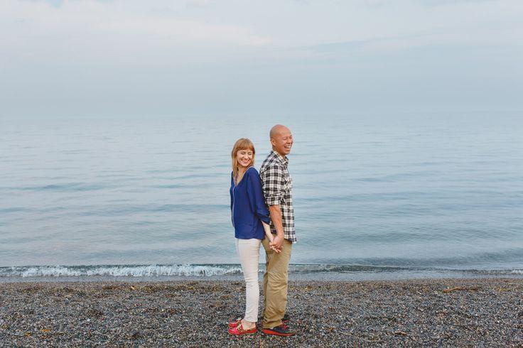 Humber Bay Park Toronto Engagement Photos