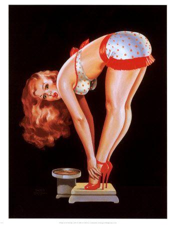 : Polka Dots, Peter O'Tool, Vintage Pinup, Vintage Pin Up, Pinup Girls, Pinup Art, Pin Up Girls, Peter Dribs, Pin Up Photo