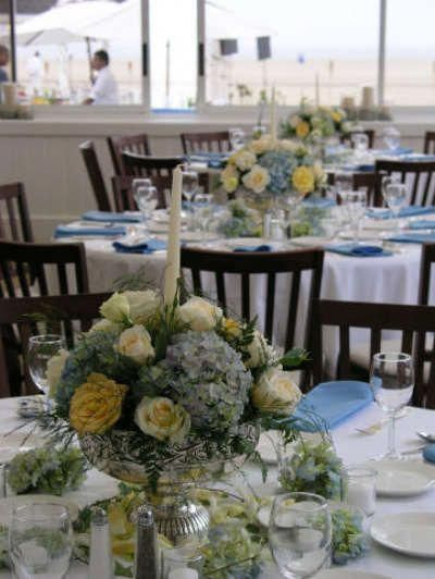 summer beach centerpiece beach wedding and ceremony ideas rh pinterest com