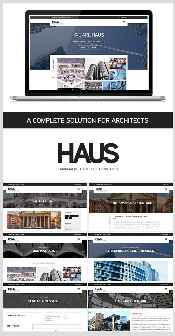 Haus - Wordpress Architecture theme for architects