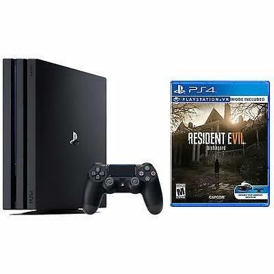 New PlayStation 4 Pro 1TB Console Bundle  Resident Evil 7 Biohazard - $400  FS Newegg via eBay #LavaHot http://www.lavahotdeals.com/us/cheap/playstation-4-pro-1tb-console-bundle-resident-evil/194873?utm_source=pinterest&utm_medium=rss&utm_campaign=at_lavahotdealsus