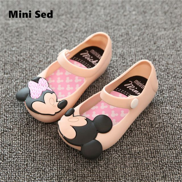Multiple Colors and Many Styles to pick from Mini SED Girls shoes princess Summer Girls Sandals Cute Children Baby Shoes Sandals for girls Jelly shoes Kids sandals - free shipping worldwide