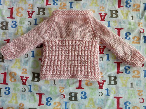 09d7d126551b Ravelry  AMITY Baby Cardigan Jacket pattern by marianna mel