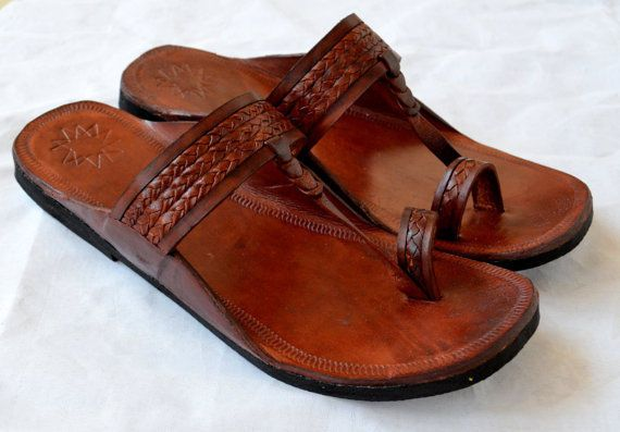 Leather Sandals -Handmade Flip Flops, Indian Leather Sandals, ALL SIZES