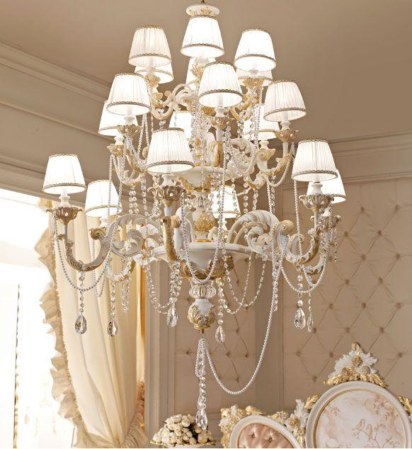 Italian Handmade Luxury classic Light Fixtures. Andrea Fanfani.