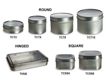 This is a website with every kind of container you could want and they are very inexpensive.