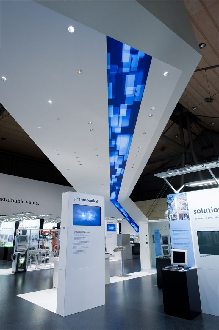 Sustainability on 3500 sqm - Siemens at HMI 2010 | Triad Berlin