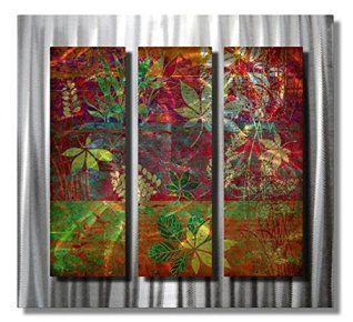 Winter wall decor is not only an amazing way to spruce up your home this winter but also easy and affordable.   In fact whether you like winter metal art, winter canvas wall art, or winter wall clocks you will find something to help deck the walls of your home. All My Walls NOR00012 north woods leaves metal wall art modern home decor contemporary wall sculpture