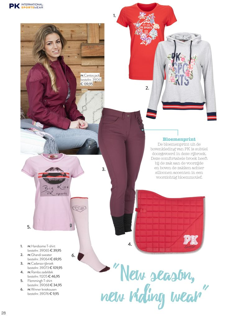 #PKSports #PK #Spring #Collectie #Voorjaar #Lovely #Items #Love #Horse #Paardensport #Mode www.divoza.com