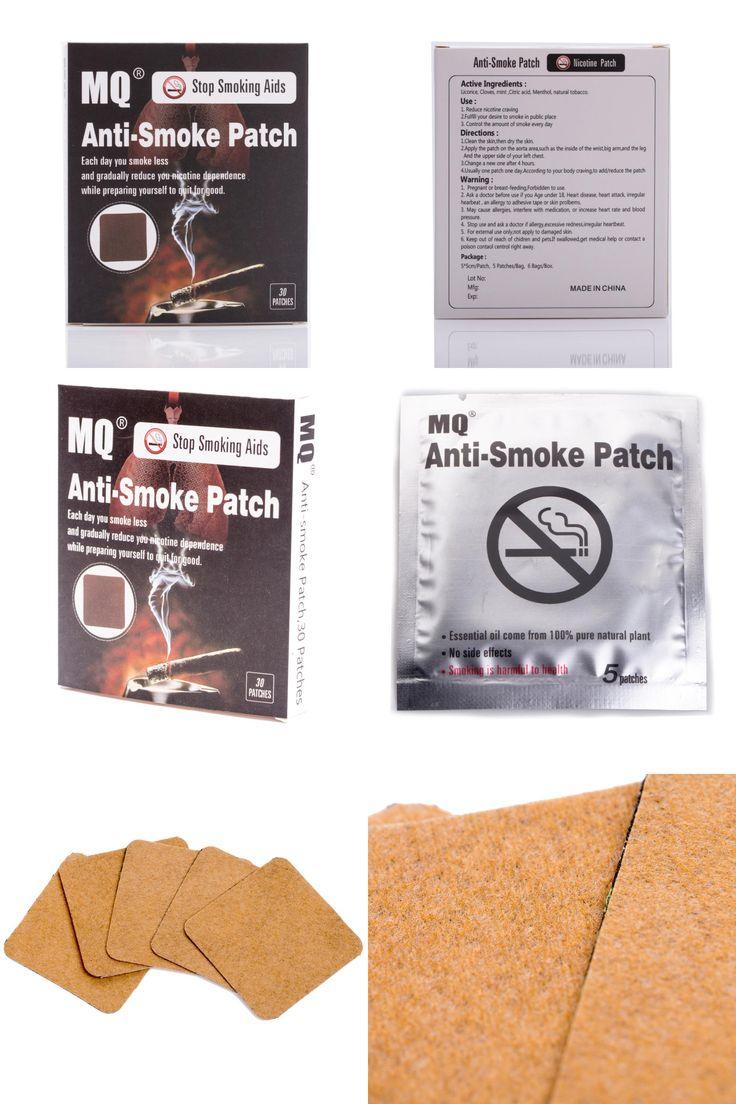 [Visit to Buy] 30pcs/box Stop Smoking Patches 5*5cm 100% Natural Ingredient Stop Smoking &Anti Smoke Patch Quit Smoke Cessation Health Therapy  #Advertisement