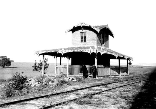 Fenerbahçe Tren İstasyonu (1870'ler).