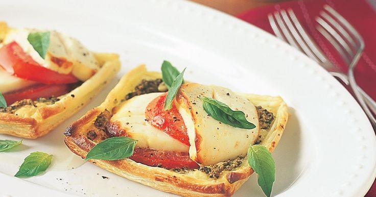 This tasty haloumi and tomato tart is perfect for a light lunch or alfresco dining.