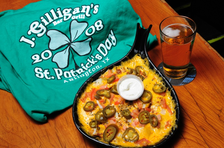Ain't nothing like St Patty's day at J Gilligan's Bar & Grill...home of the original Irish Nacho.