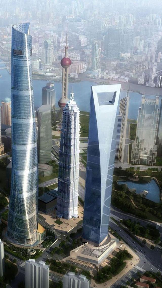 Shanghai-wallpaper-China