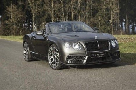 Bentley Continental GT car by Mansory