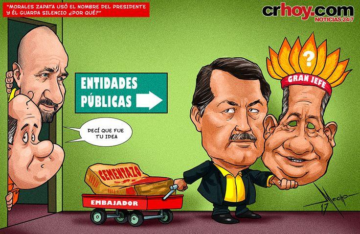 """""""Morales Zapata usó el nombre del Presidente y él guarda silencio ¿Por qué?"""""""