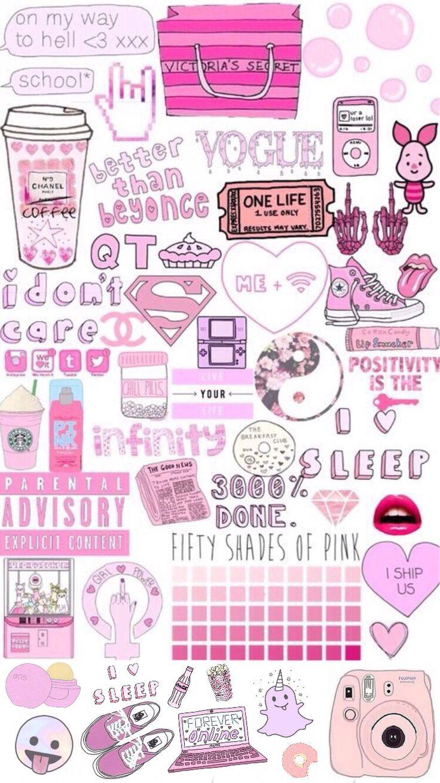 Cute And Girly Desktop Wallpapers Tumblr Png Art Amp Drawing Pinterest Wallpaper
