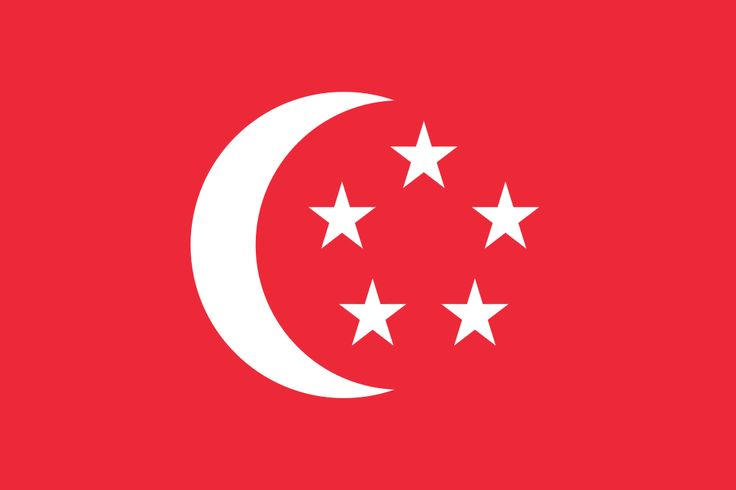The Flag of the President of the Republic of Singapore