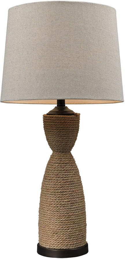 artistic home lighting wrapped rope table lamp products in 2018 rh pinterest com
