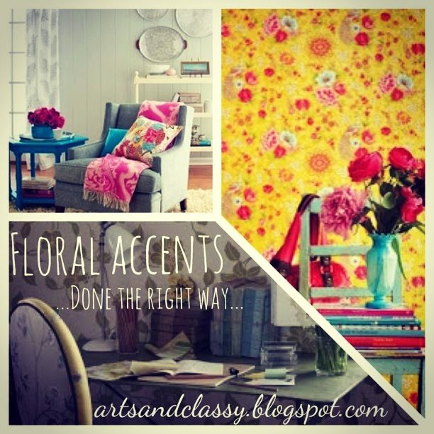 DIY Home Decor On A Budget: Design Advice   Floral Accents   Love!