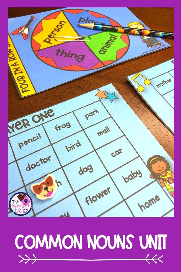 Nouns Sort Activity Worksheets Games Common Nouns 1st Grade Math Worksheets Math Worksheets [ 1102 x 735 Pixel ]