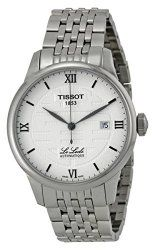 Tissot Men's T41183350 Le Locle Analog Display Swiss Automatic Silver Watch