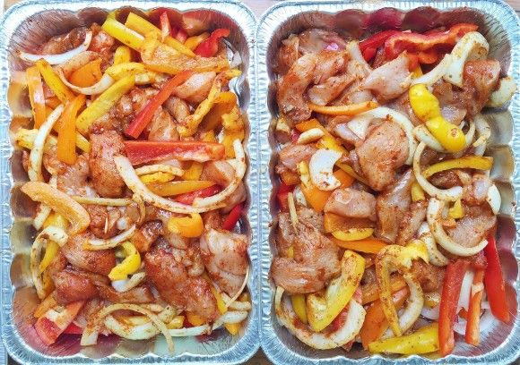Oven Baked Chicken Fajitas (freezer)