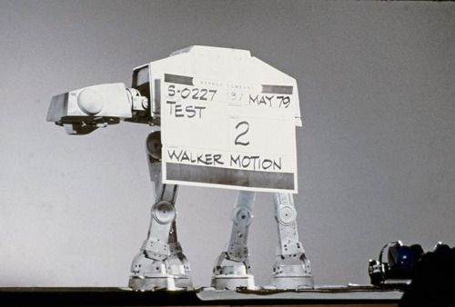 1979 AT-AT Imperial Walker motion test from The Empire Strikes...