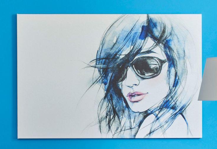 Premium collection by Home affaire Leinwandbild blau, 120x80cm, »I wear my sunglasses« Jetzt bestellen unter: https://moebel.ladendirekt.de/dekoration/bilder-und-rahmen/bilder/?uid=c3bc090b-1a6c-5d80-957d-9d652ad00842&utm_source=pinterest&utm_medium=pin&utm_campaign=boards #bilder #rahmen #dekoration
