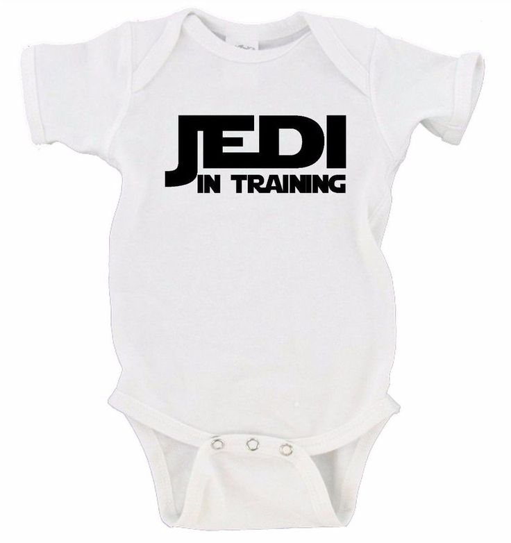 Jedi in Training Star Wars Baby Onesie Nerdy Nerd Geek Gerber Bodysuit One-Piece #Gerber