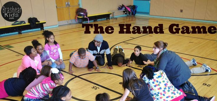 The Brashear Kids: The Hand Game: An After School Circle Game