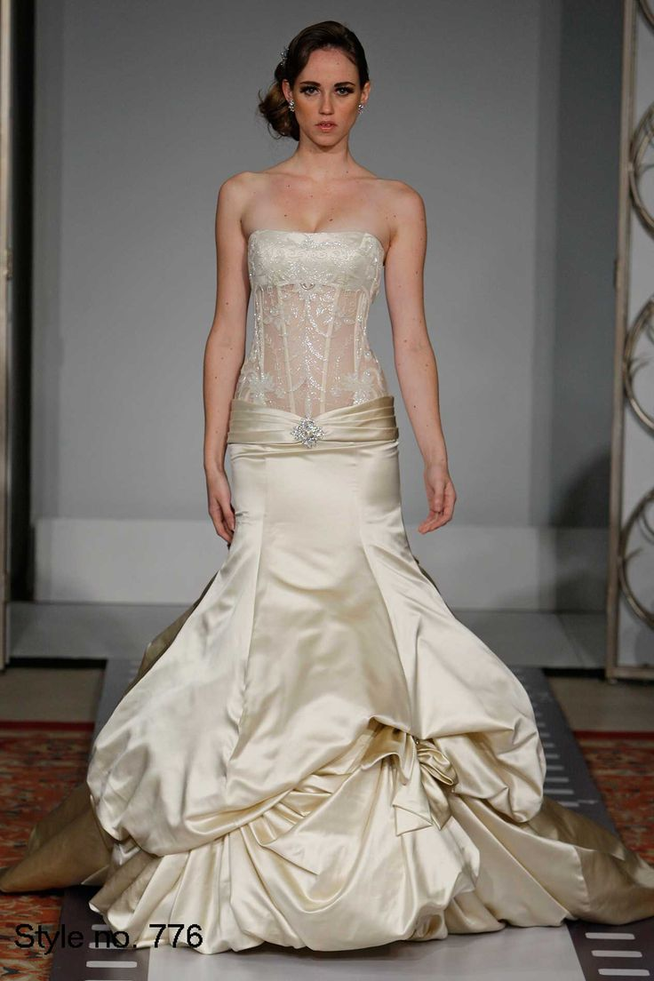 Nice Pnina Tornai I really love this dropped waist of Pnina Style creates a lovely silhouette really beautiful