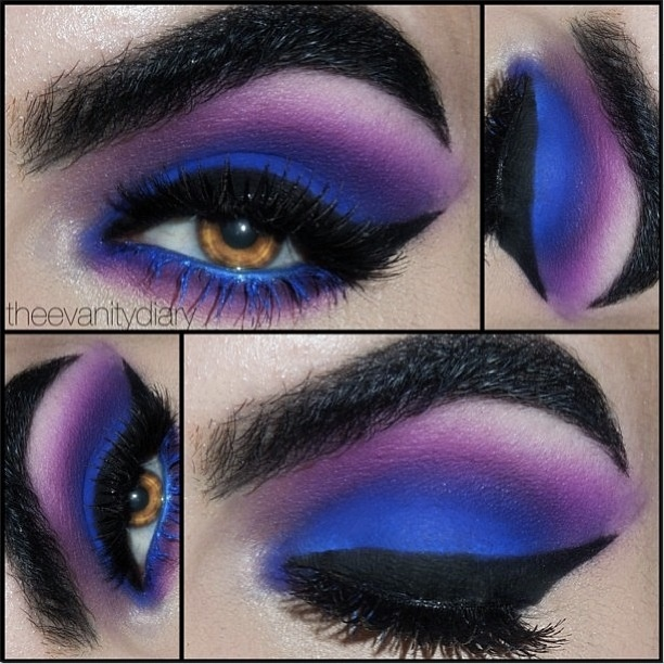 25 besten make up bilder auf pinterest frisuren for Smokey eyes blau