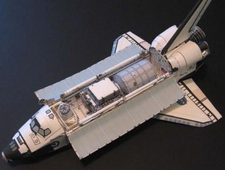 Space Shuttle Discovery Ver.3 Free Paper Model Download