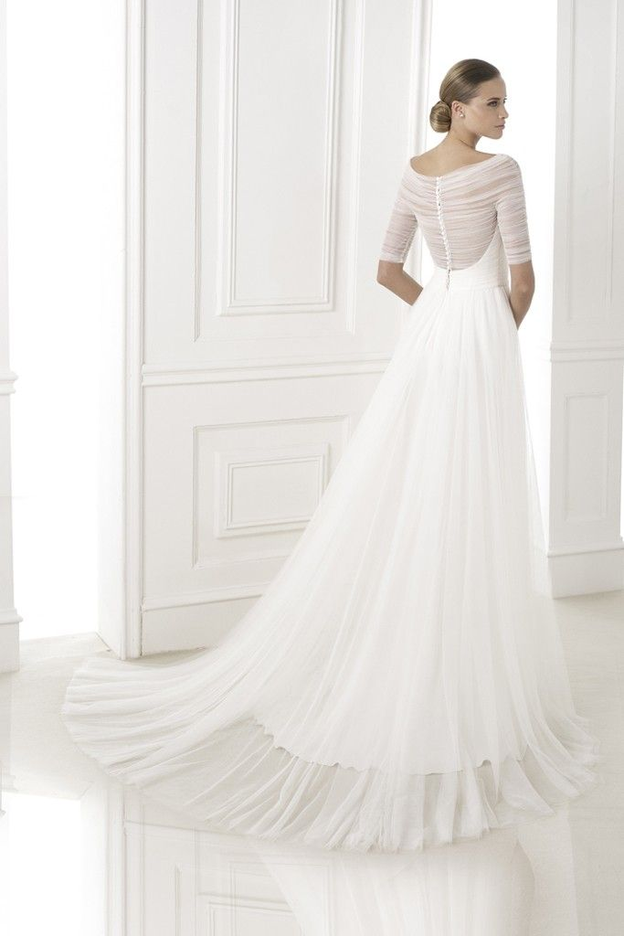 Pronovias Introduced Wedding Dresses Collection for 2015