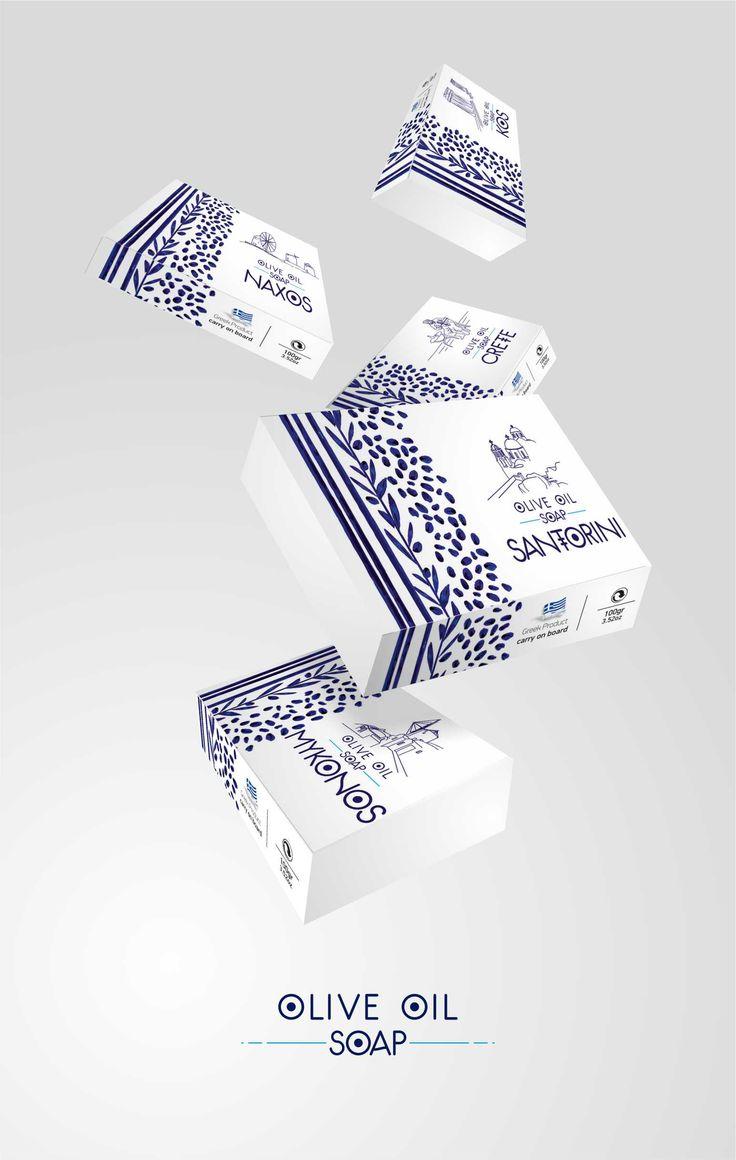 Μια σειρά τουριστικών σαπουνιών που μας «ταξιδεύει» σε όλη την Ελλάδα. #design #packaging #soap #leftgraphic #oliveoil