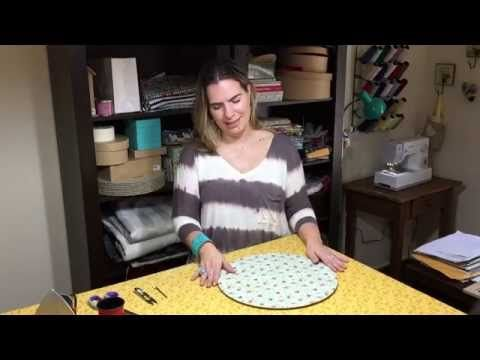 DIY SEWING: SOUSPLAT COVER | DRICA TV | MON. AND THU. - YouTube