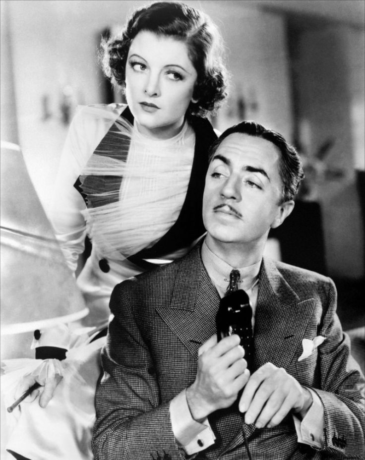 The Thin Man- William Powell & Myrna Loy. Awesome movie series. Retired Detective Nick Charles (Powell) keeps getting roped into solving murder cases, and his excitement loving wife, Nora (Loy), is usually the one doing the roping. ;)