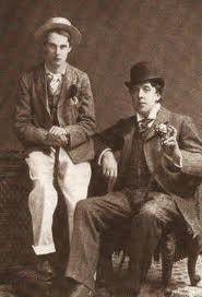 Oscar Wilde and his boyfriend Lord Alfred Douglas (Bosie)
