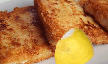Σαγανάκι με τηγανητό τυρί – Greek Kouzina