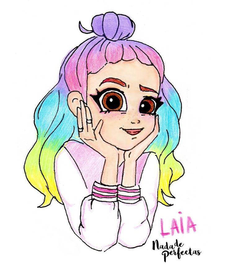 """21.3 mil Me gusta, 306 comentarios - Nada de Perfectas (@nadadeperfectas) en Instagram: """"☁ Laia ☁ Redibuje a Laia, un original personaje que creé en el año 2014!   Redraw Laia, a…"""""""
