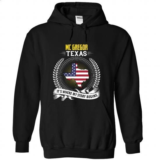 Born in MC GREGOR-TEXAS V01 - #printed t shirts #mens casual shirts. I WANT THIS => https://www.sunfrog.com/States/Born-in-MC-GREGOR-2DTEXAS-V01-Black-Hoodie.html?id=60505