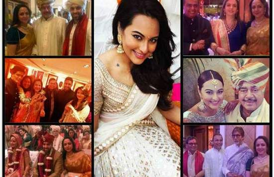 At Sonakshi Sinha's Brother's Wedding photos and info At Sonakshi Sinha's Brother's Wedding: Narendra Modi, Bachchans and A-List - http://shar.es/1bhckk  #SonakshiSinha #ShatrughanSinha #NarendraModi #Wedding #Marriage #BollywoodModi, Bachchans and A-List. all updates from Shatrughan Sinha son marriage with london girl